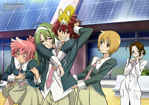 BONES, Star Driver, Vice President, Wako Agemaki, Kanako Watanabe