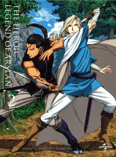 Hiromu Arakawa, SANZIGEN, Heroic Legend of Arslan (Hiromu Arakawa), Daryun, Narsus (Hiromu Arakawa)