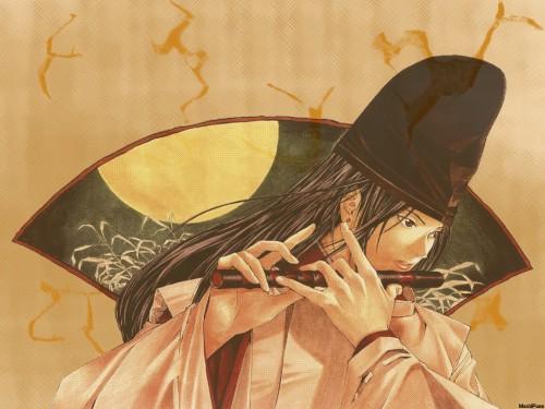 Takeshi Obata, Hikaru no Go, Fujiwara no Sai Wallpaper