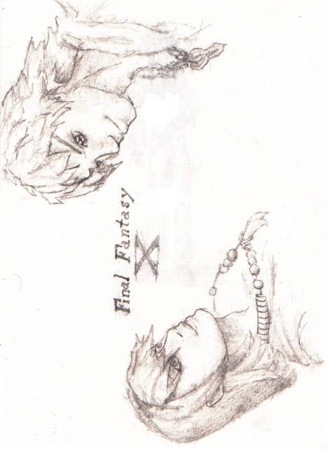 Square Enix, Final Fantasy X, Tidus, Yuna, Member Art