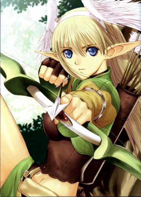 Tony Taka, Shining Tears Collection of Visual Materials, Shining Tears, Elwing