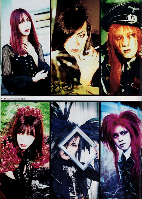 Kaoru (J-Pop Idol), Kyo (J-Pop Idol), Toshiya, Shinya, Die