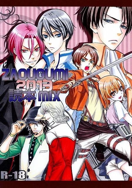 Tsuda Mikiyo, Free!, Tiger and Bunny, Shingeki no Kyojin, To Aru Kagaku no Railgun