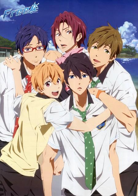 Futoshi Nishiya, Kyoto Animation, Free!, Haruka Nanase (Free!), Rin Matsuoka