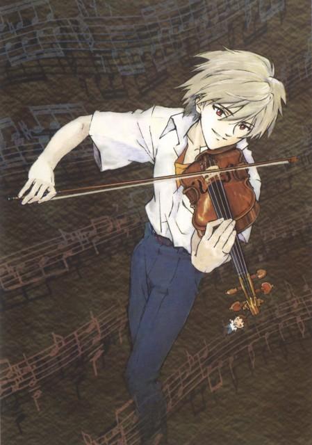 Yoshiyuki Sadamoto, Neon Genesis Evangelion, Die Sterne, Kaworu Nagisa