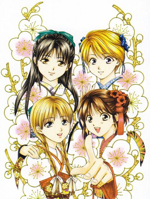 Yuu Watase, Fushigi Yuugi: Genbu Kaiden, Fushigi Yuugi, Genbu Kaiden 9.5 Official Fan Book, Suzuno Oosugi