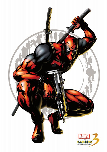 Capcom, Marvel, Marvel vs Capcom 3, Deadpool