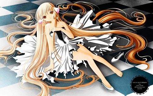 CLAMP, Chobits, Chii, Vector Art Wallpaper
