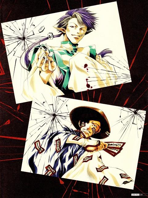 Kazuya Minekura, Studio Pierrot, Saiyuki, Salty Dog I, Chin Yisou