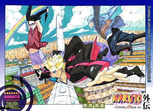 Masashi Kishimoto, Naruto, Bolt Uzumaki, Mitsuki (Naruto), Sarada Uchiha