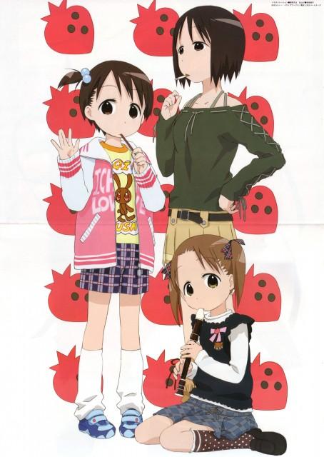 Barasui, Ichigo Mashimaro, Miu Matsuoka, Chika Itoh, Nobue Itoh