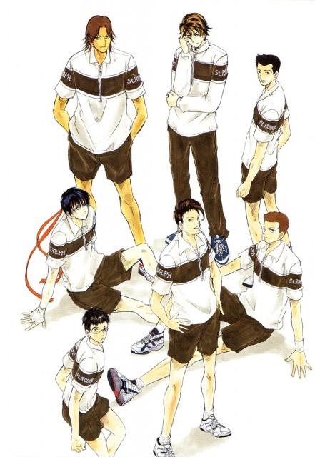 Takeshi Konomi, J.C. Staff, Prince of Tennis, Yuuta Fuji, Shinya Yanagisawa