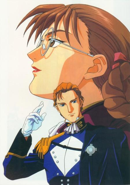 Mobile Suit Gundam Wing, Lady Une, Treize Khushrenada