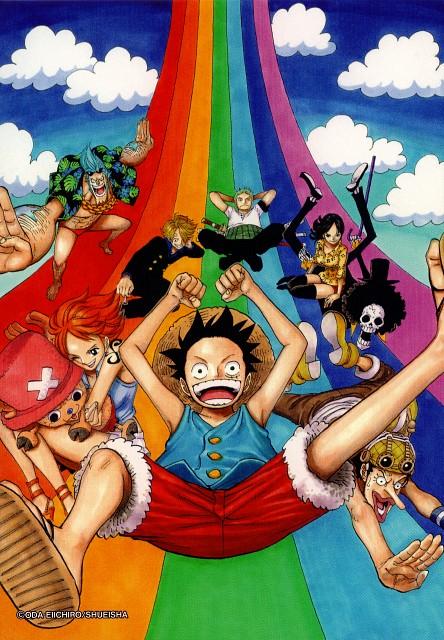 Eiichiro Oda, Toei Animation, One Piece, Color Walk 6 - Gorilla, Tony Tony Chopper