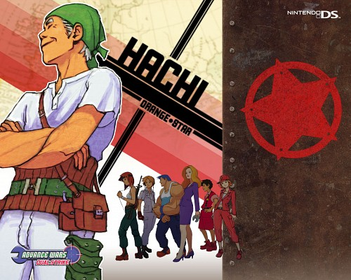 Nintendo, Advance Wars, Rachel (Advance Wars), Max (Advance Wars), Hachi (Advance Wars)