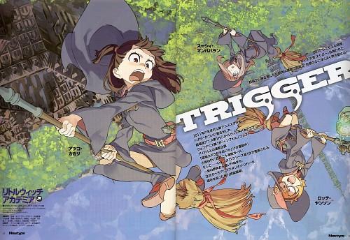 Trigger (Studio), Little Witch Academia, Atsuko Kagari, Sucy Manbavaran, Lotte Yansson