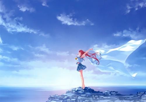 Kurehito Misaki, Deep Blue Sky & Pure White Wings, Tomoka Miyamae
