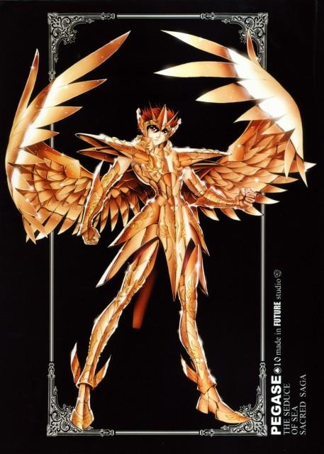 Future Studio, Masami Kurumada, Saint Seiya, Sacred Saga, Pegasus Seiya