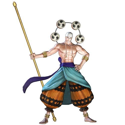 Eiichiro Oda, Toei Animation, One Piece, Enel, Official Digital Art