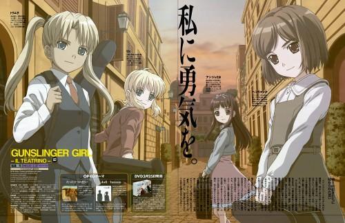 Artland, Gunslinger Girl, Triela, Angelica (Gunslinger Girl), Rico (Gunslinger Girl)