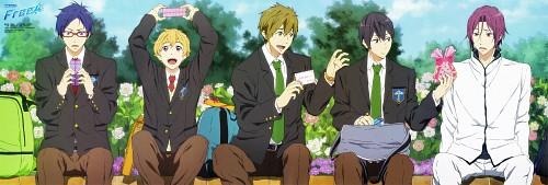 Kyoto Animation, Free!, Nagisa Hazuki, Rin Matsuoka, Haruka Nanase (Free!)