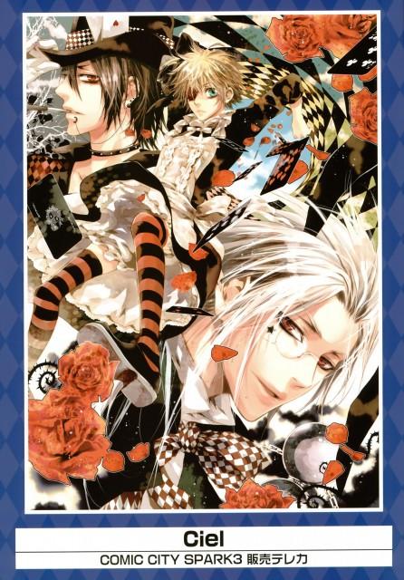 Yana Toboso, Ciel 33.3, A-1 Pictures, Kiseki - K-books 15th Anniversary