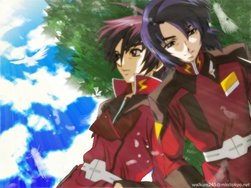 Sunrise (Studio), Mobile Suit Gundam SEED Destiny, Shinn Asuka, Athrun Zala Wallpaper