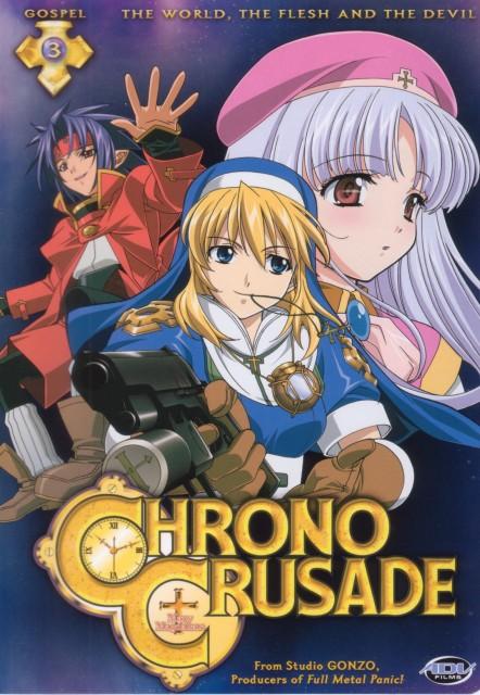 Daisuke Moriyama, Gonzo, Chrno Crusade, Chrno, Rosette Christopher