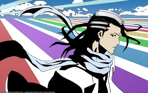 Kubo Tite, Studio Pierrot, Bleach, Byakuya Kuchiki, Vector Art Wallpaper