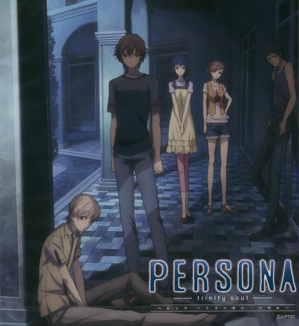A-1 Pictures, Persona: Trinity Soul, Takurou Sakakiba, Jun Kanzato, Shin Kanzato
