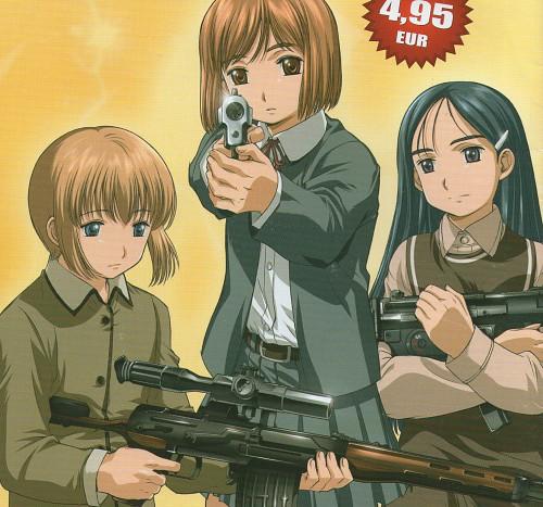 Yu Aida, Madhouse, Gunslinger Girl, Claes, Rico (Gunslinger Girl)