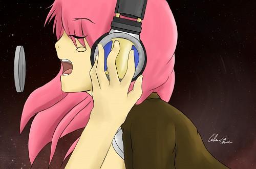 Headphone Girls, Vocaloid, Luka Megurine, Member Art Wallpaper