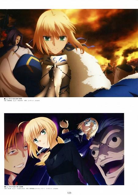 TYPE-MOON, Fate/Zero, Fate/Zero Animation Visual Guide II, Ryuunosuke Uryuu, Saber