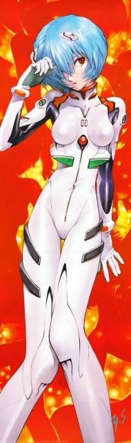 Yoshiyuki Sadamoto, Neon Genesis Evangelion, Carmine, Rei Ayanami, Stick Poster