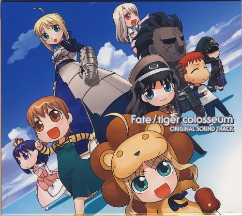 TYPE-MOON, Fate/tiger colosseum, Sakura Matou, Saber, Saber Lion