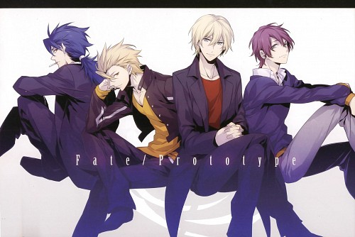 ryugo, TYPE-MOON, Fate/Prototype, Gilgamesh (Fate/stay night), Lancer (Fate/stay night)