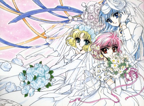 CLAMP, TMS Entertainment, Magic Knight Rayearth, Magic Knight Rayearth 2 Illustrations Collection, Fuu Hououji
