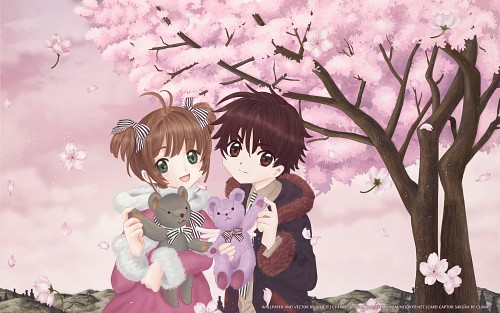 CLAMP, Madhouse, Card Captor Sakura, Sakura Kinomoto, Syaoran Li Wallpaper