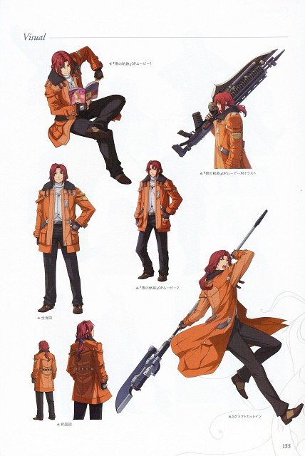 Falcom, The Legend of Heroes: Ao no Kiseki, The Legend of Heroes: Zero no Kiseki, Randy Orlando, Character Sheet