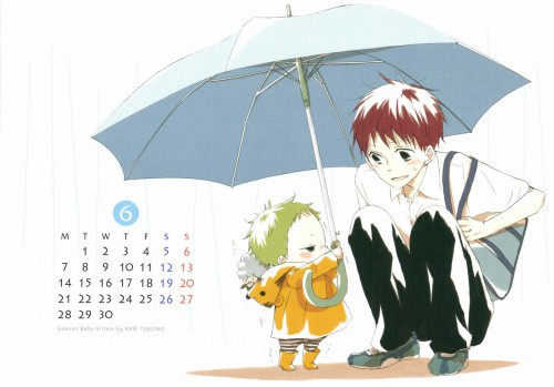Hari Tokeino, Gakuen Babysitters, LaLa Kiremeki Star Calendar 2010, Kotarou Kashima, Ryuuichi Kashima