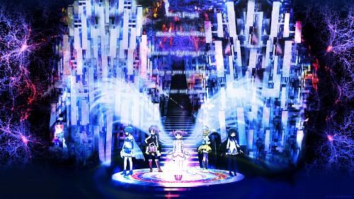 Ume Aoki, Shaft (Studio), Puella Magi Madoka Magica, Madoka Kaname, Sayaka Miki Wallpaper