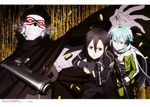 Akira Takata, A-1 Pictures, Sword Art Online, Sinon, Kazuto Kirigaya