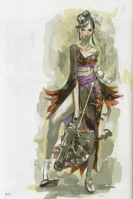 Makoto Tsuchibayashi, Capcom, Design Works, Sengoku Basara, Nouhime (Sengoku Basara)