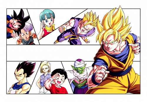 Akira Toriyama, Toei Animation, Dragon Ball, Android 18, Vegeta