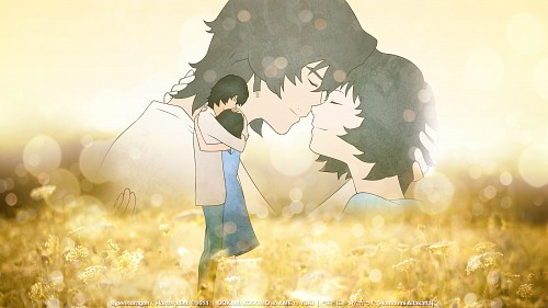 Madhouse, Ookami Kodomo no Ame to Yuki, Vector Art Wallpaper