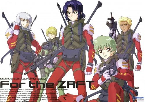 Sunrise (Studio), Mobile Suit Gundam SEED, Nicol Amalfi, Athrun Zala, Miguel Aiman