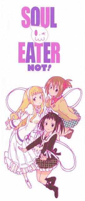 Atsushi Okubo, Soul Eater Not!, Meme Tatane, Anya Hepburn, Tsugumi Harudori