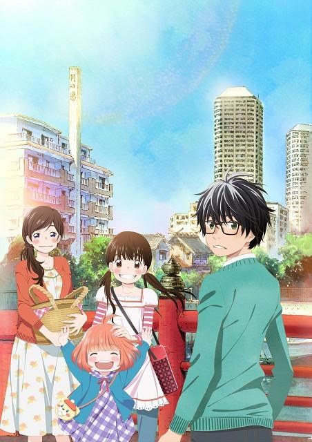 Chika Umino, Shaft (Studio), Sangatsu no Lion, Hinata Kawamoto, Rei Kiriyama