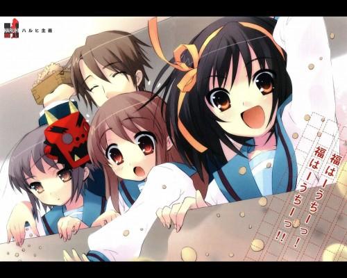 Noizi Ito, Kyoto Animation, The Melancholy of Suzumiya Haruhi, Yuki Nagato, Mikuru Asahina