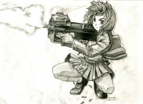 Madhouse, Gunslinger Girl, Henrietta, Member Art